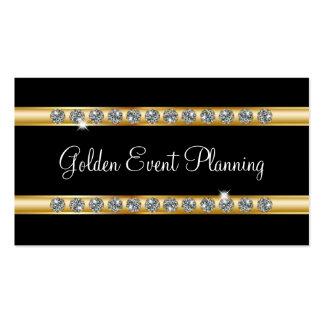Tarjetas de visita del planificador de eventos