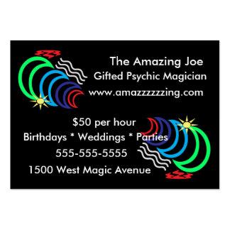 Tarjetas de visita del poder mágico