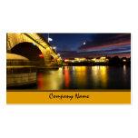 Tarjetas de visita del puente de Londres