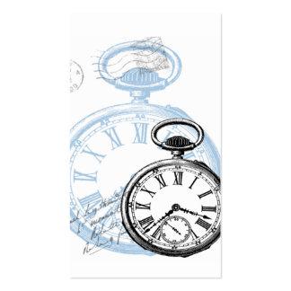Tarjetas de visita del reloj del reloj de Pocketwa