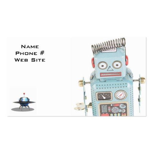 Tarjetas de visita del robot
