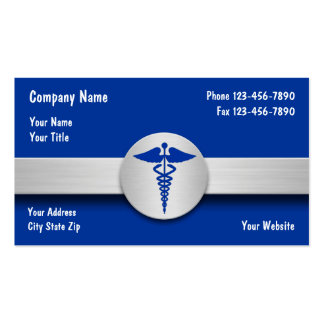 Tarjetas de visita del seguro médico