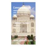 Tarjetas de visita del Taj Mahal