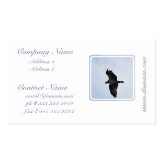 Tarjetas de visita del vuelo de Osprey