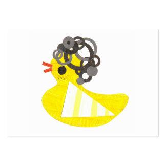 Tarjetas de visita Ducky del disco
