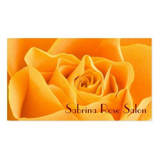 Tarjetas de visita dulces del rosa amarillo