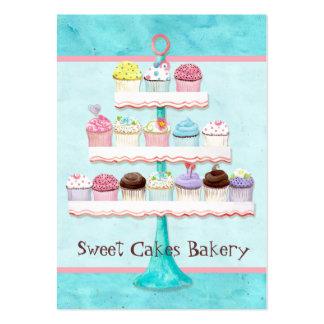 Tarjetas de visita dulces del Shoppe de la magdale