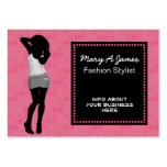 tarjetas de visita elegantes del boutique de la