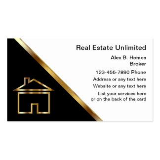 Tarjetas de visita exclusivas de las propiedades i