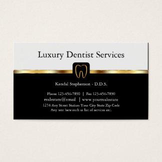 Tarjetas de visita exclusivas del dentista