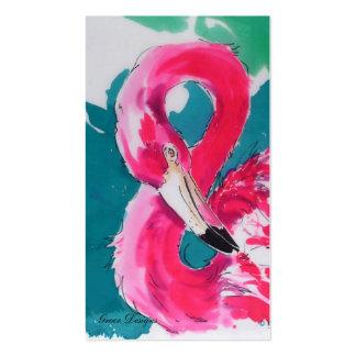 Tarjetas de visita fabulosas del flamenco