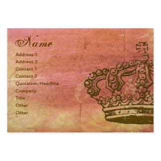 Tarjetas de visita francesas del pergamino de la c