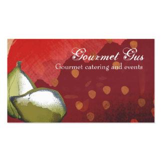 tarjetas de visita frescas de abastecimiento del