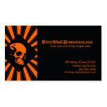 Tarjetas de visita frescas de SkullBurst