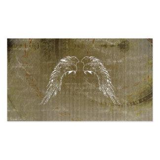 Tarjetas de visita herbarias célticas de las alas