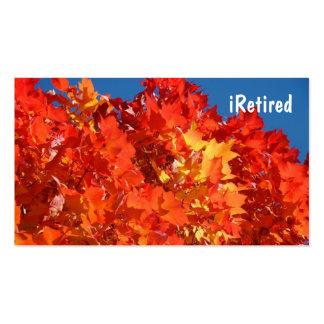tarjetas de visita iRetired que aman la vida que s