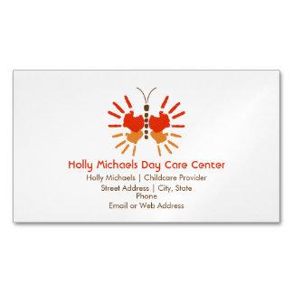 Tarjetas de visita magnéticas del cuidado de niños tarjetas de visita magnéticas (paquete de 25)