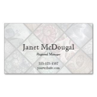 Tarjetas de visita magnéticas del fractal de tarjetas de visita magnéticas (paquete de 25)