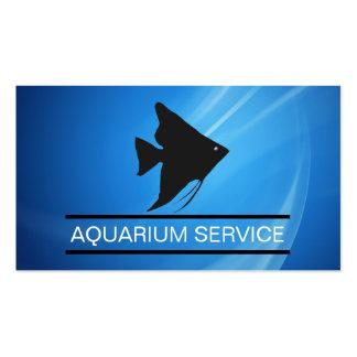 Tarjetas de visita marinas del acuario