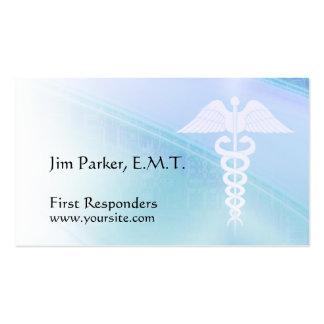Tarjetas de visita médicas de encargo de la atenci