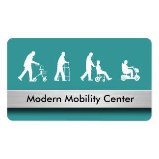 Tarjetas de visita médicas de la movilidad