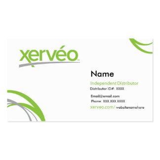 Tarjetas de visita oficiales de Xerveo