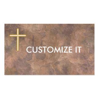 TARJETAS de VISITA personal cristianas