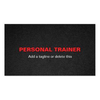 Tarjetas de visita personales del instructor del G