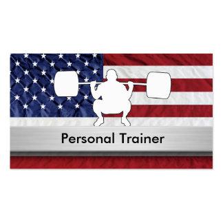Tarjetas de visita personales del instructor