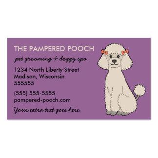 Tarjetas de visita personalizadas del perro o del