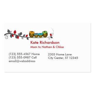 Tarjetas de visita personalizadas/tarjetas de visi