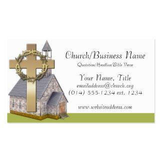 Tarjetas de visita: Poca iglesia Tarjetas De Visita