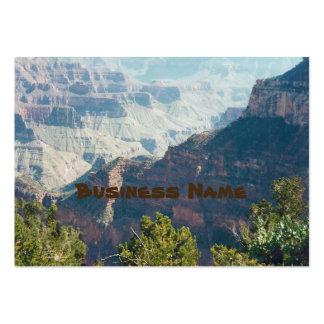 Tarjetas de visita rechonchas del Gran Cañón