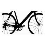 Tarjetas de visita rígidas de la bicicleta