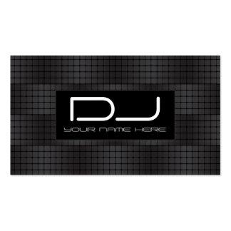 Tarjetas de visita urbanas de Hip Hop DJ