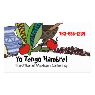 Tarjetas de visitas al sudoeste mexicanas de tarjeta de visita