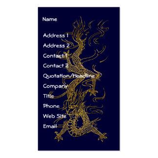Tarjetas de visitas asiáticas del diseño del tarjetas de visita