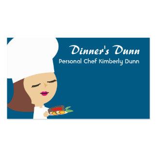 Tarjetas de visitas triguenas lindas de la cena tarjetas de visita
