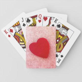 Tarjetas del amor barajas de cartas