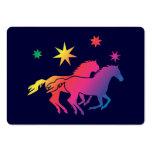 Tarjetas del caballo tarjetas de visita grandes