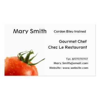 Tarjetas del cocinero/de visita personal del cocin tarjeta de visita