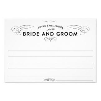 Tarjetas del consejo del boda invitaciones personales