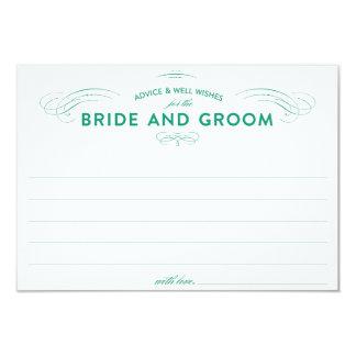 Tarjetas del consejo del boda comunicados personales