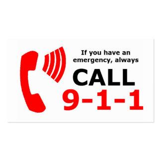 Tarjetas del CPR de la emergencia Tarjetas Personales