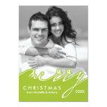 Tarjetas del día de fiesta de las Felices Navidad Invitación 12,7 X 17,8 Cm