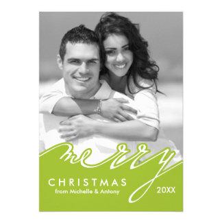 Tarjetas del día de fiesta de las Felices Navidad Comunicados Personalizados