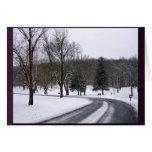 Tarjetas del día de invierno