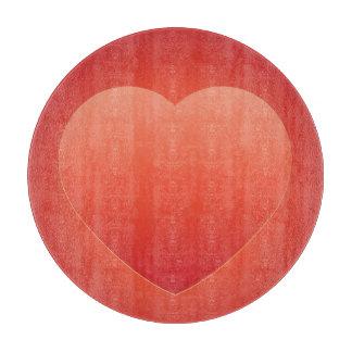 Tarjetas del día de San Valentín 3 Tablas Para Cortar