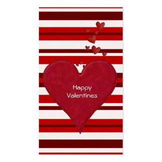 Tarjetas del día de San Valentín a distribuir para Tarjetas De Visita