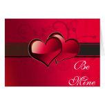 Tarjetas del día de San Valentín, aniversario, amo
